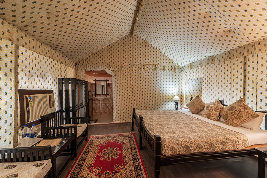 Luxury tent in Ranthambore
